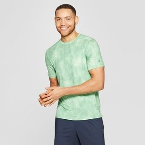🌿Men's green running airo t-shirt